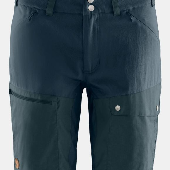 Fjallraven Womens Abisko Midsummer Shorts  Dark Navy