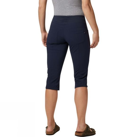 Mountain Hardwear Womens Dynama Capris Dark Zinc