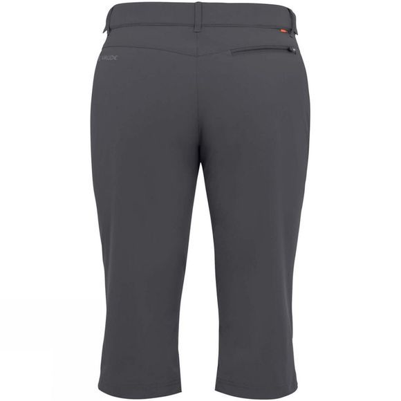 Vaude Womens Farley Stretch Capri II Iron