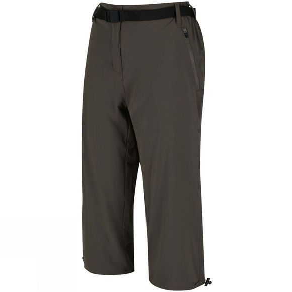 Regatta Womens Xert Stretch Capris II Roasted
