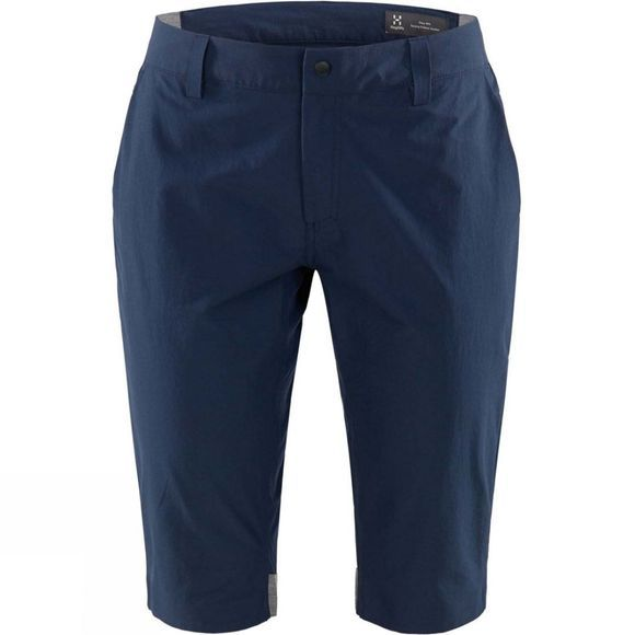 Haglofs Womens Amfibious Long Shorts Tarn Blue