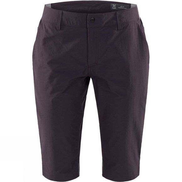Haglofs Womens Amfibious Long Shorts Acai Berry