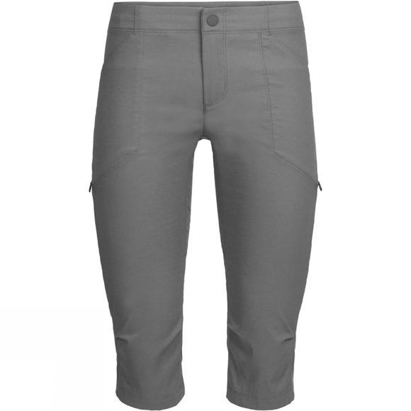 Icebreaker Womens Connection Commuter 3Q Pants Monsoon