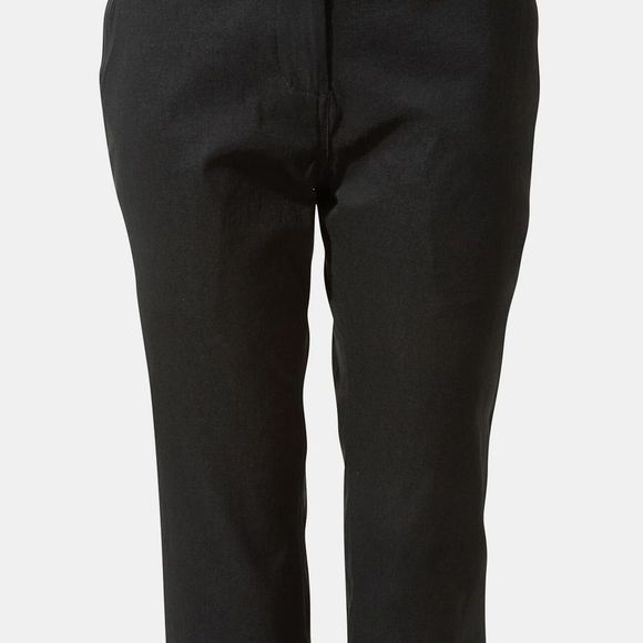 Craghoppers Womens Kiwi Pro II Crop Trousers Black