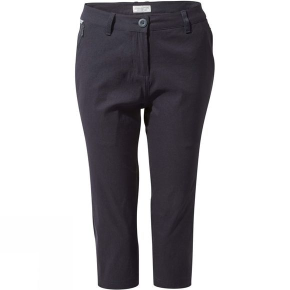 Craghoppers Womens Kiwi Pro II Crop Trousers Dark Navy