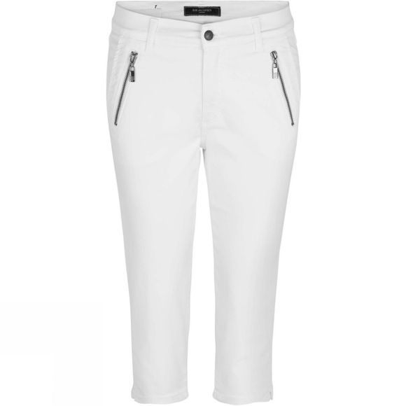 Ilse Jacobsen Womens Cropped Trousers White