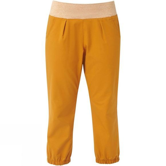 Mountain Equipment Womens Viper Crop Pant Pumpkin Spice