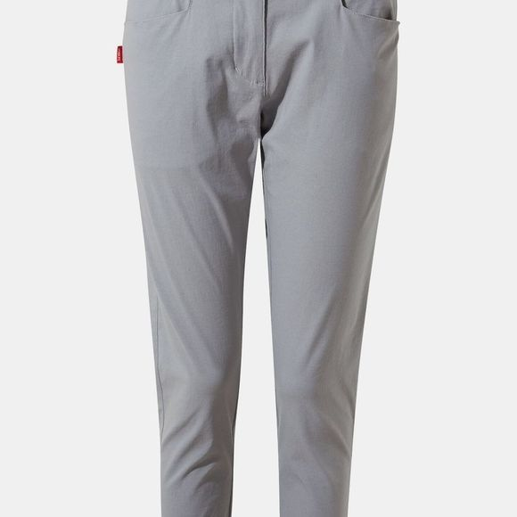 Craghoppers Womens Nosilife Clara Crop Trouser Cloud Grey