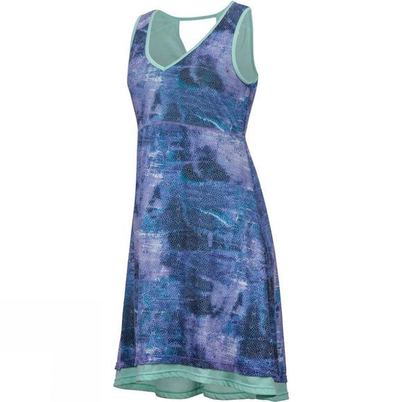 Marmot Womens Larissa Dress Clear Sky Sprinkle