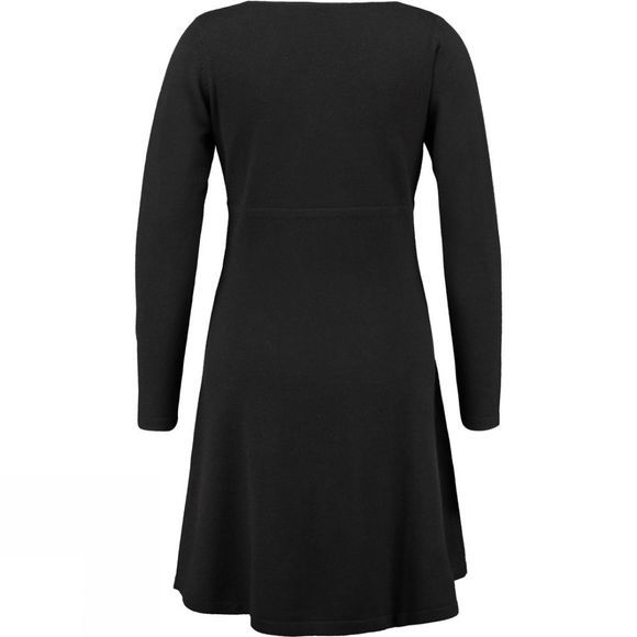 Ayacucho Womens Wool Avenue Dress Black