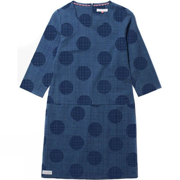 Womens Polka Cotton Dress