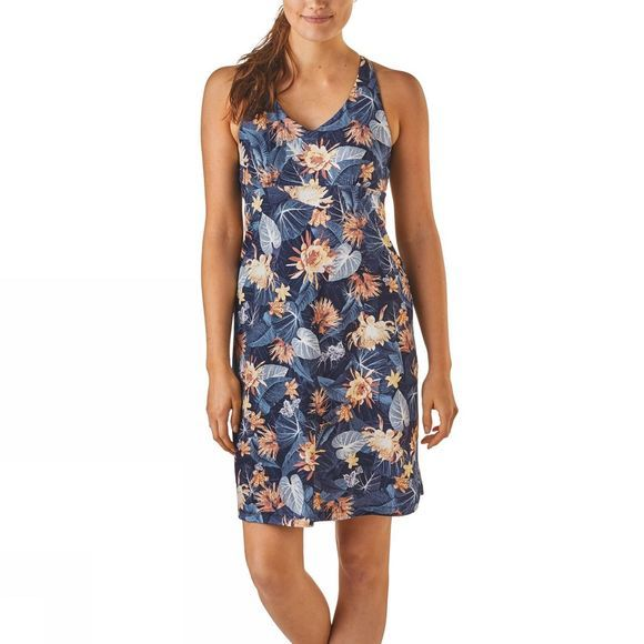 Patagonia Women's Magnolia Spring Dress Yosemite Natives:Railroad Blue