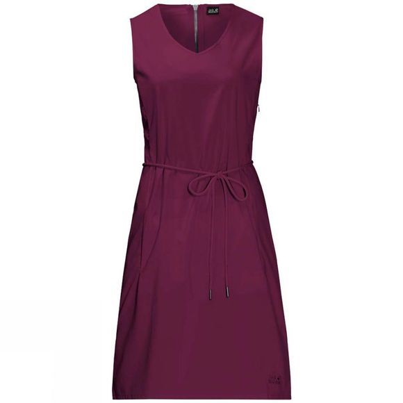 Jack Wolfskin Womens Tioga Road Dress Wild Berry