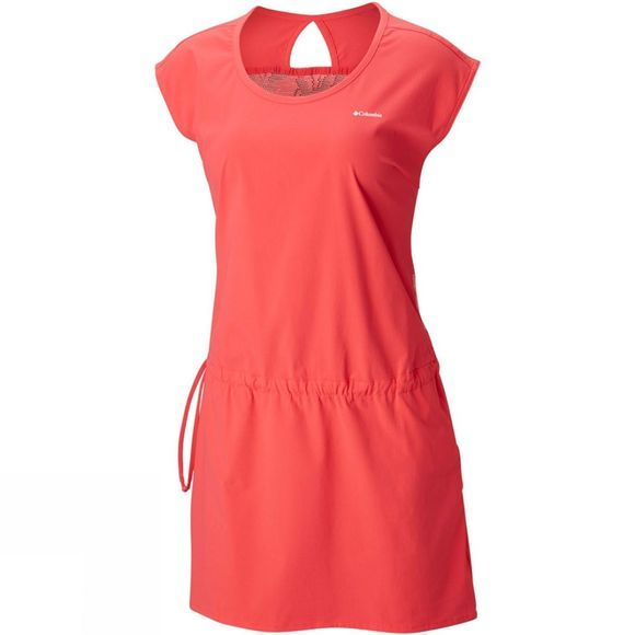 Columbia Womens Peak to Point Dress Red Camellia
