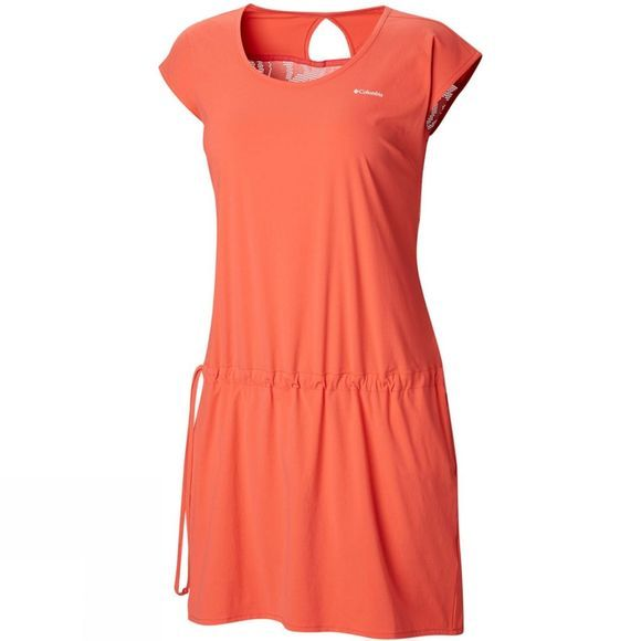 Columbia Womens Peak to Point Dress Red Coral