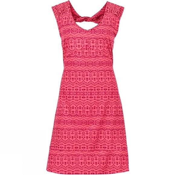 Marmot Womens Annabelle Dress Hibiscus Heather Sunfall
