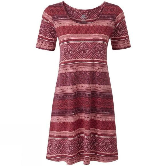 Sherpa Womens Kira Swing Dress Golbera Pink