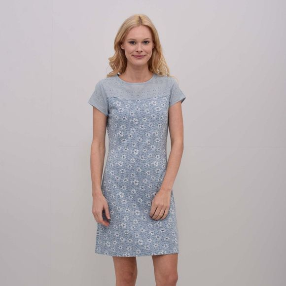 Brakeburn Womens Dandelion Lace Dress Blue