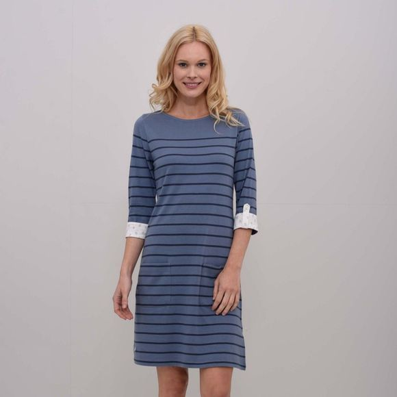 Womens Jersey Stripe Dress