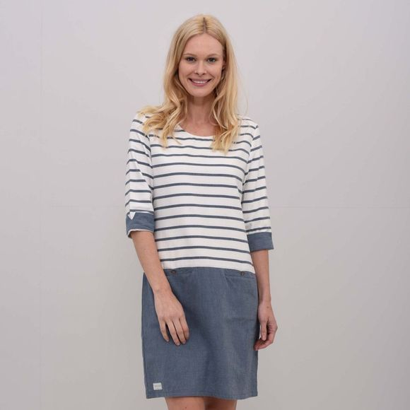 Womens Woven Stripe Dress