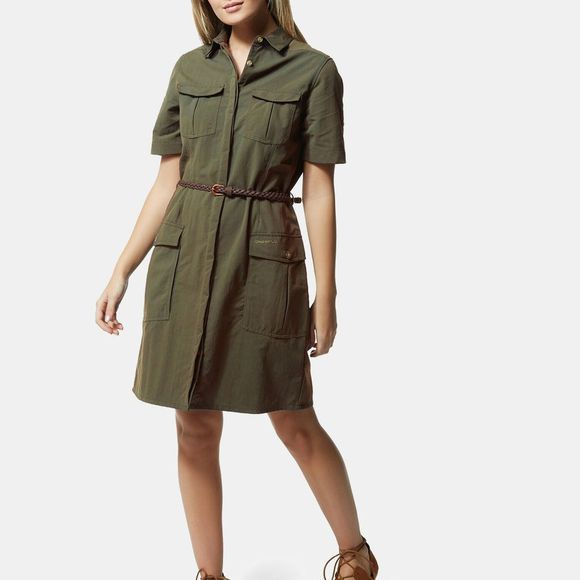 Craghoppers Womens NosiLife Savannah Dress Mid Khaki