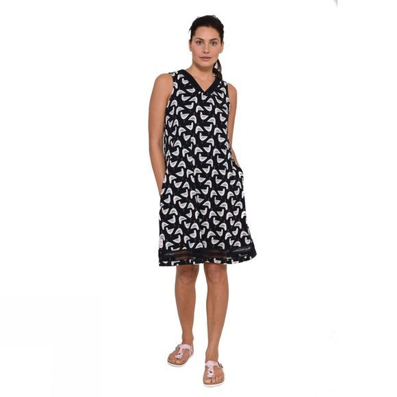 Brakeburn Womens Seagull Beach Dress Navy
