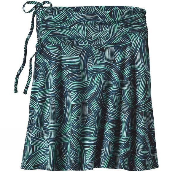 Patagonia Womens Lithia Skirt River Rush:Ink Green