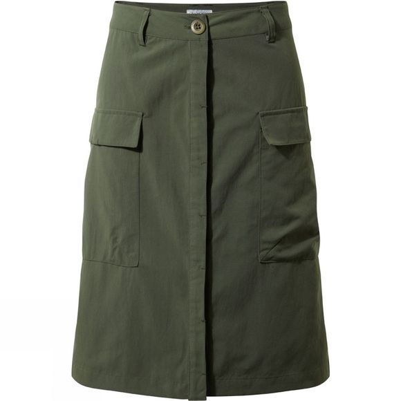 Craghoppers Womens Nosilife Miro Skirt Parka Green