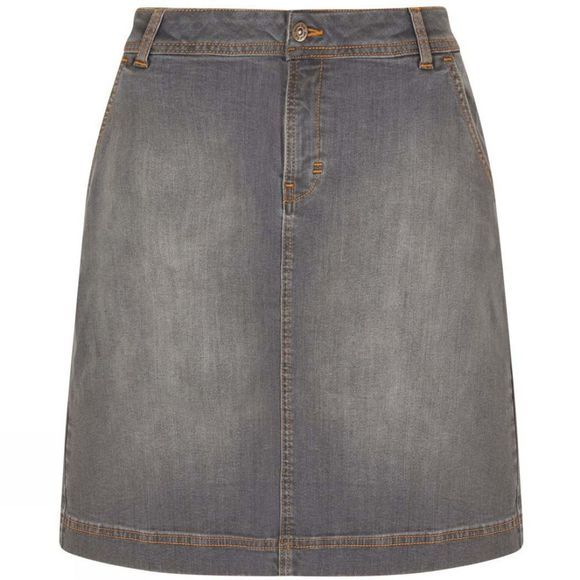 Weird Fish Womens Ria Skirt Dark Denim