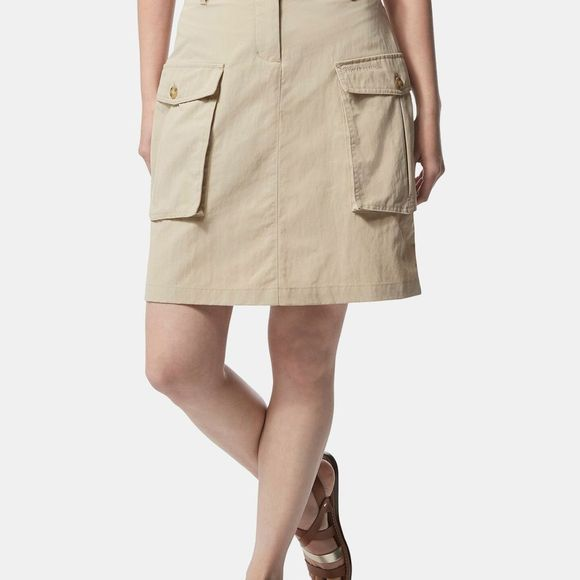 Craghoppers Womens Nosilife Savannah Skirt Desert Sand
