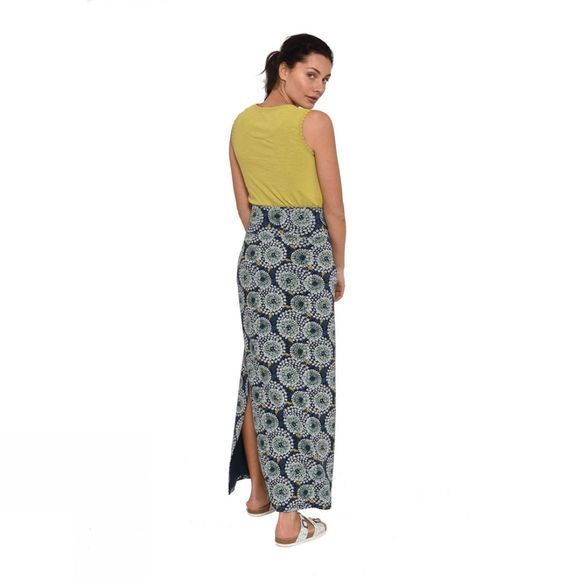 Brakeburn Womens Apple Maxi Skirt Navy