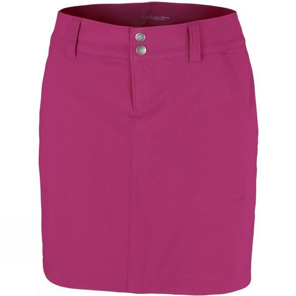 Columbia Womens Saturday Trail Skort Wine Berry