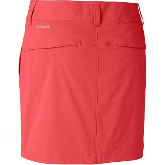 Columbia Womens Saturday Trail Skort Red Coral