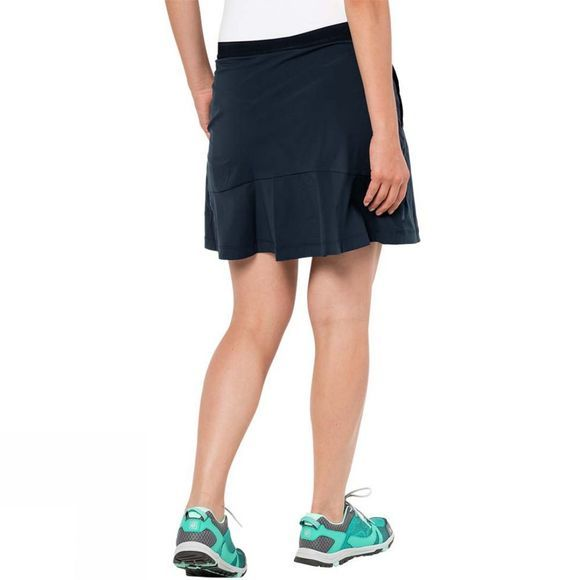 Jack Wolfskin Womens Activate Light Skort Midnight Blue