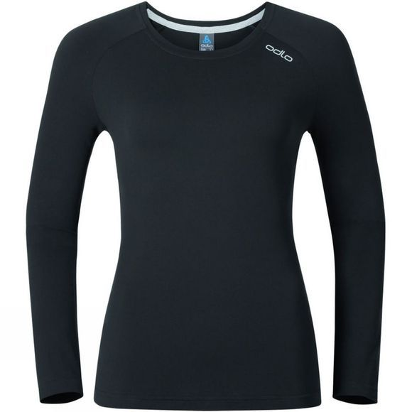 Odlo Womens Sillian Long Sleeve T-Shirt Black
