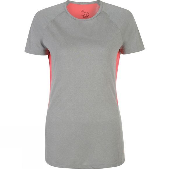 Dare 2 b Womens Three Strikes Tee Ash Grey Marl