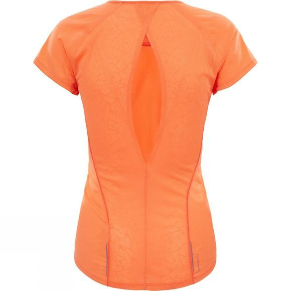 The North Face Womens Better Than Naked Short Sleeve Shirt Nasturtium Orange