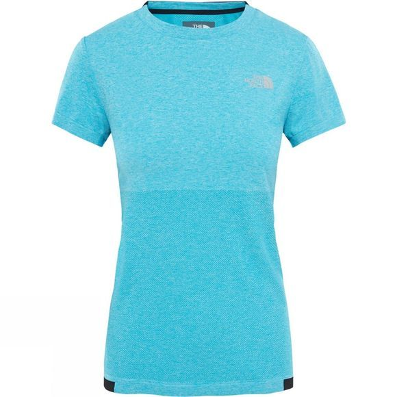 The North Face Summit L1 Engineered T-Shirt Bluebird Heathr/TNF Black