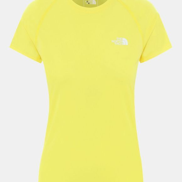 The North Face Womens Flex T-Shirt Tnf Lemon