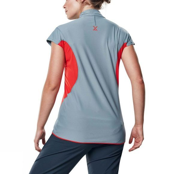 Womens Super Tech Tee Zip Short Sleeve T-Shirt