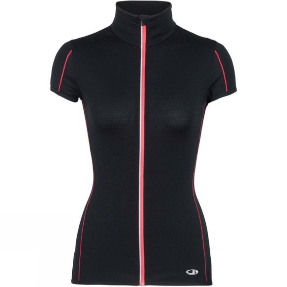 Womens Comet Lite Short Sleeve Zip