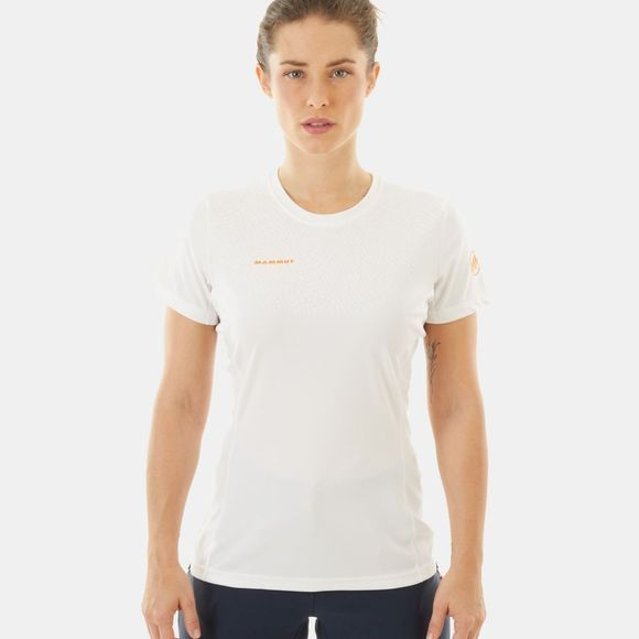Mammut Womens Moench Light T-Shirt Bright White