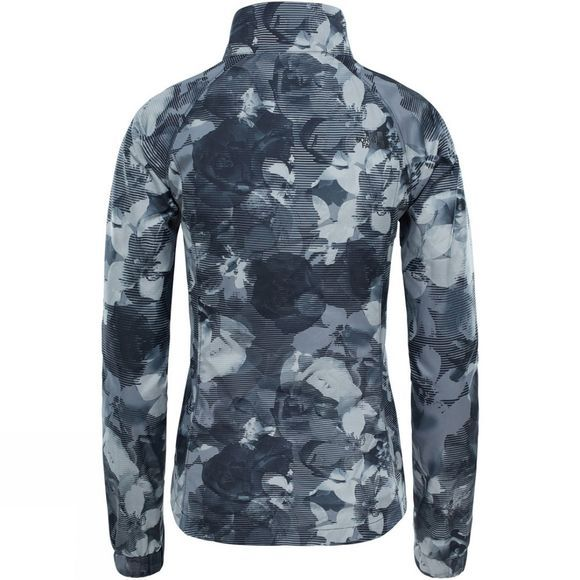 The North Face Womens Reactor Jacket TNF Black Botanical Print