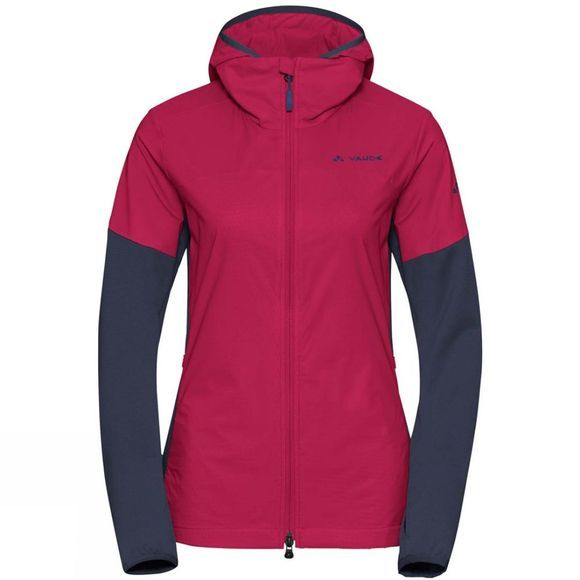 Vaude Womens Scopi SYN Alpha Jacket Crimson Red