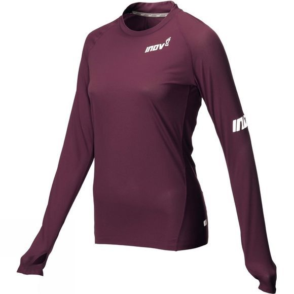 Inov-8 Womens AT/C Base Long Sleeve Top Purple