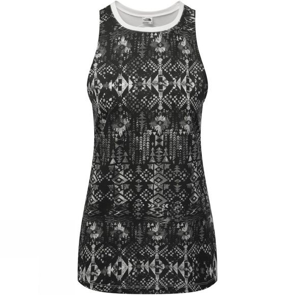 The North Face Womens Burn It Tank TNF Black Boho All Over Print