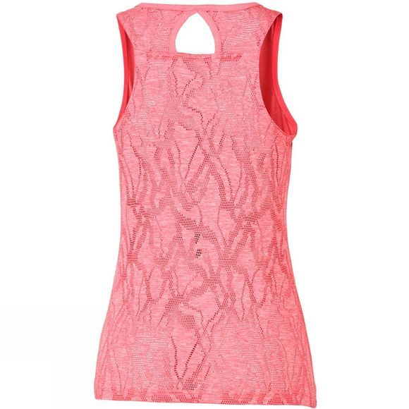 Columbia Womens Peak to Point Novelty Tank Coral Bloom