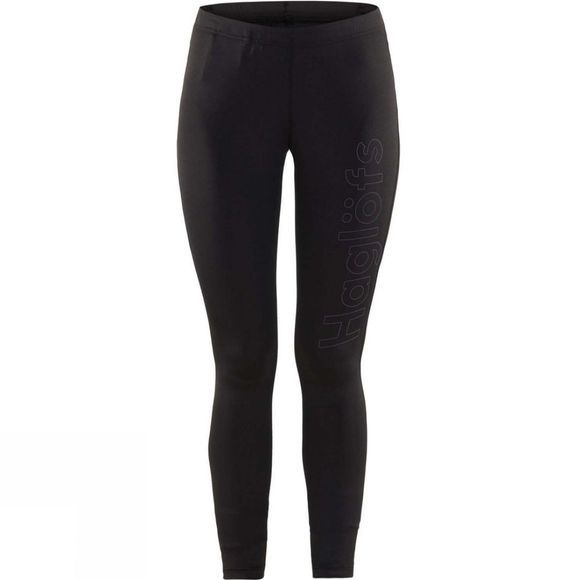 Haglofs Womens L.I.M Core Tights True Black  /  Lilac