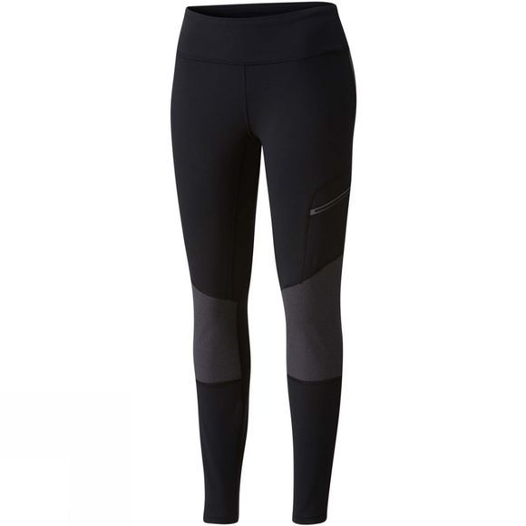 Columbia Womens Titan Peak Trekking Leggings Black/Shark