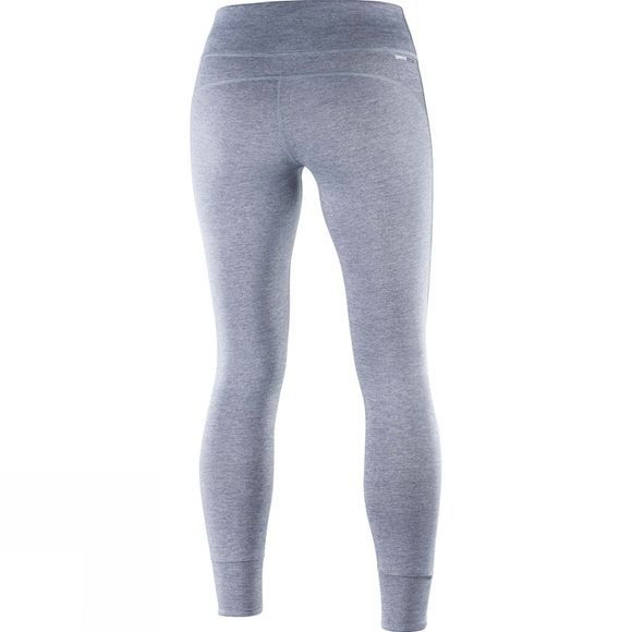 Salomon Womens Mantra Tech legging Lilac Gray/Graphite Heather